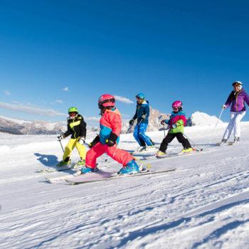 Die Seiser Alm ein Skigebiet für die ganze Familie