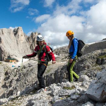 Arrampicare nelle Dolomiti
