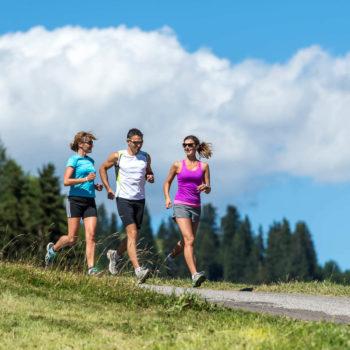 Correre sull'Alpe di Siusi