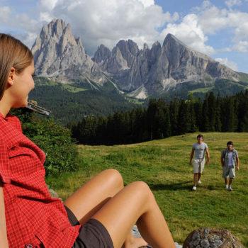 Escursione sull'Alpe di Siusi